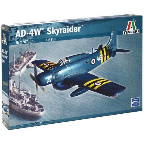 AD-4W SKYRAIDER  1/48 SCALE KIT