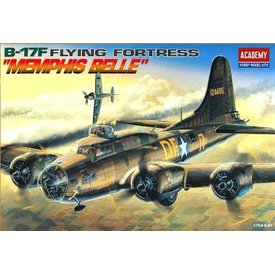 Academy B17F MEMPHIS BELLE 1:72 Scale Kit Re-issue