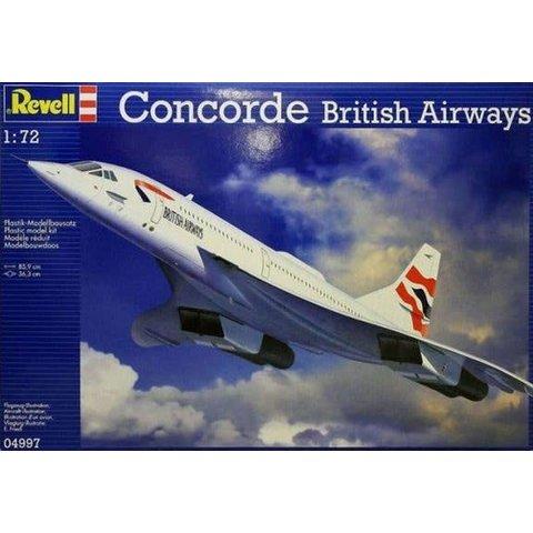 CONCORDE BRITISH AIRWAYS UNION 1:72 Scale Kit