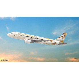 Revell Germany A320 ETIHAD 1:144 Scale Kit