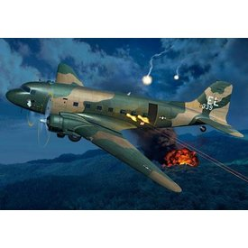 Revell Germany AC-47D GUNSHIP 1:48 Scale Kit *O/P*
