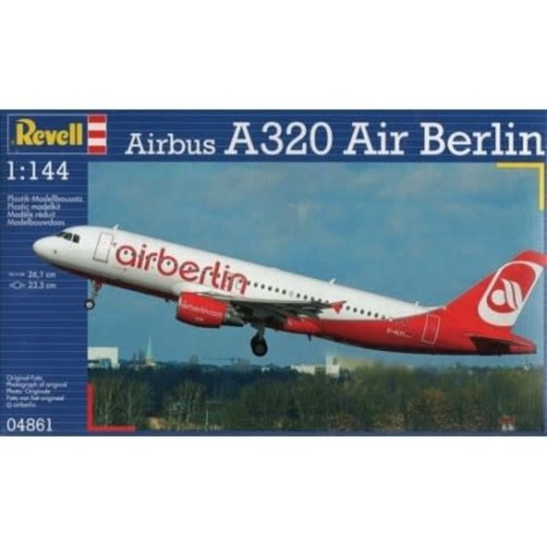 Revell Germany Airbus A320 AIR BERLIN 1:144 Scale Kit