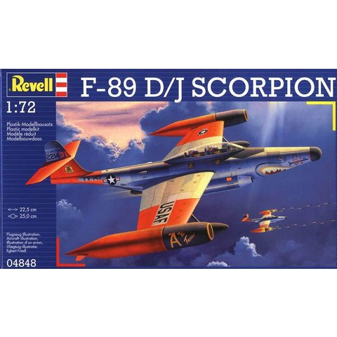 Northrop F89D/J SCORPION 1:72 Scale Kit