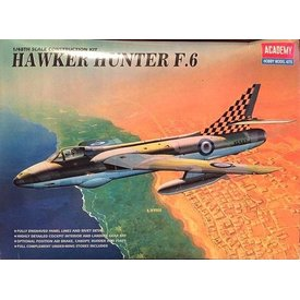 Academy HAWKER HUNTER F6 1:48 Scale Kit o/p