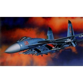 Academy Sukhoi SU27 FLANKER B 1:48 Scale Kit