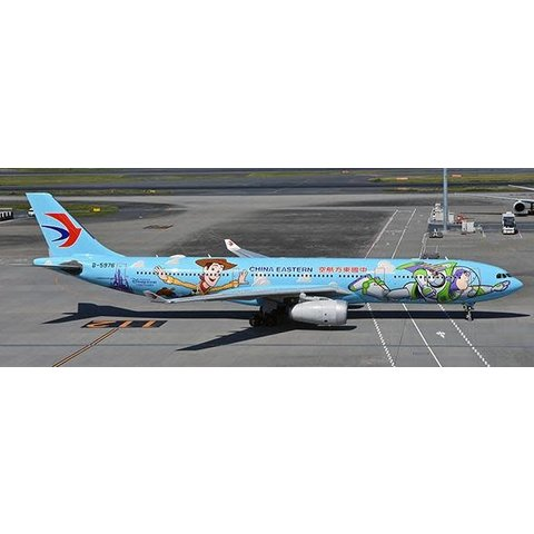 A330-300 China Eastern Toy Story Disney B-5976 1:400 with stand