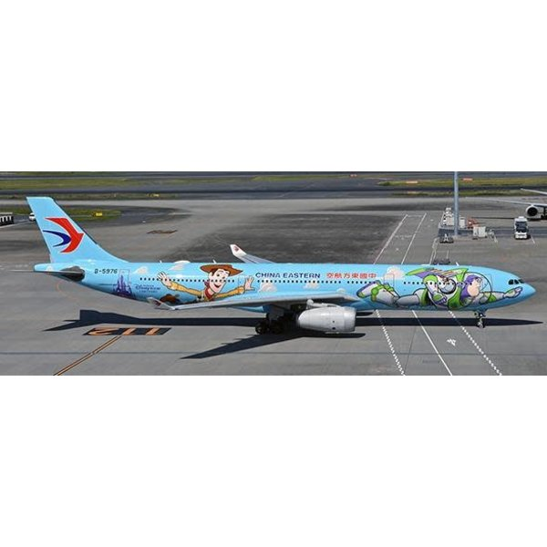 JC Wings A330-300 China Eastern Toy Story Disney B-5976 1:400 with stand