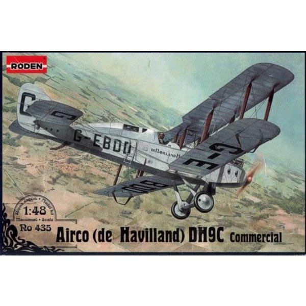 Roden De Havilland DH9c Commercial 1:48 Scale Kit