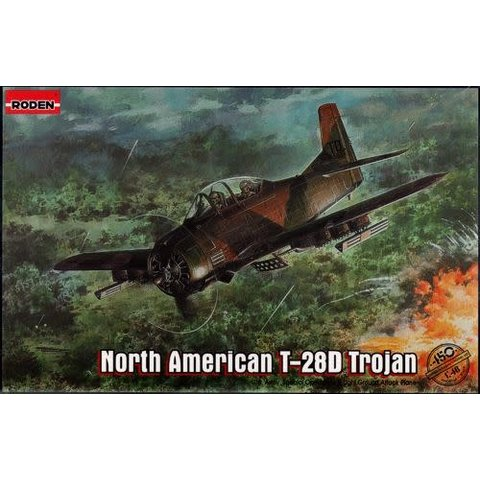 North American T-28D Trojan 1:48 Scale Kit