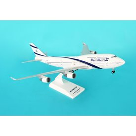 SkyMarks B747-400 ElAl 1:200 with stand + gear