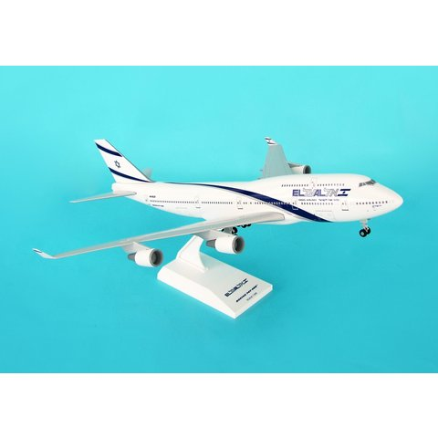 B747-400 ElAl 1:200 with stand + gear