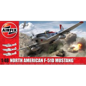 Airfix F51D MUSTANG 1:48 Scale Kit (Post WW2)