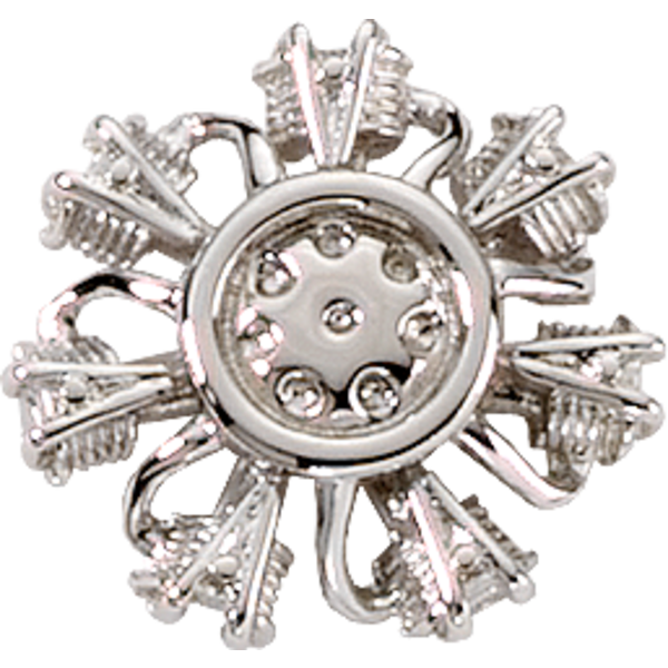 RADIAL ENGINE (3-D) Silver