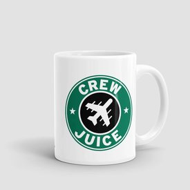 Airportag Mug Crew Juice11 oz