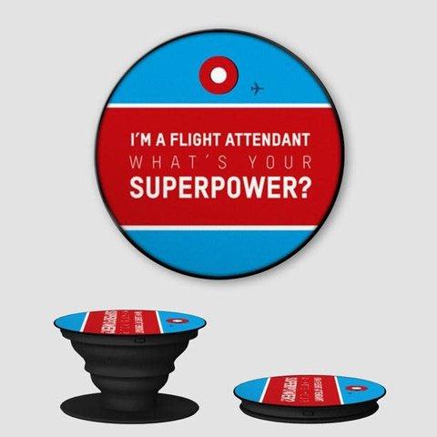 Flight Attendant Phone Grip