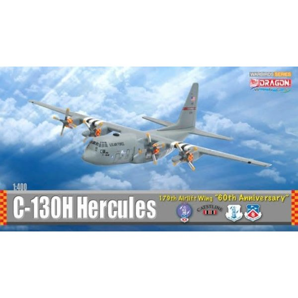 Dragon C130 D-DAY 179 AW 60TH ANN.1:400 Scale Diecast Model