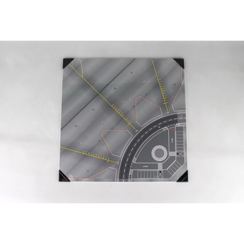 Apron / Tower Ground Plate hardboard 50 cm x 50 cm 1:200