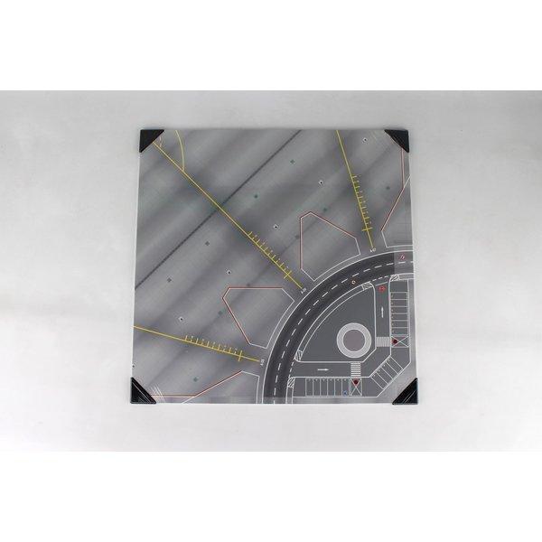 Herpa Apron / Tower Ground Plate hardboard 50 cm x 50 cm 1:200
