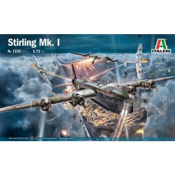 Short Stirling Mk1 1:72 Scale Kit