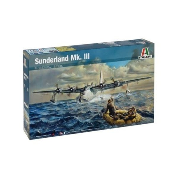 Short Sunderland MkIII 1:72 Scale Kit