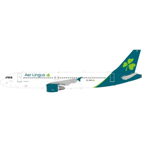 A320 Aer Lingus New Livery 2019 EI-DVN 1:200 with stand