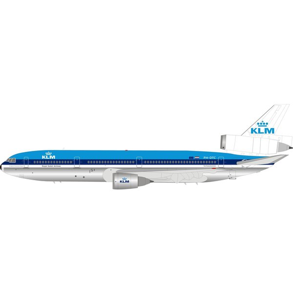 InFlight DC10-30 KLM Royal Dutch Airlines PH-DTC 1:200 with stand