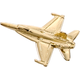 Johnson's F/A-18 HORNET (3-D CAST) Gold