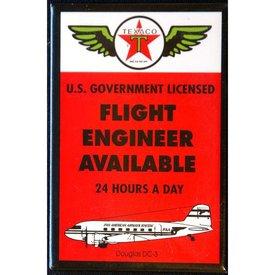 Magnet Texaco Flight Engineer
