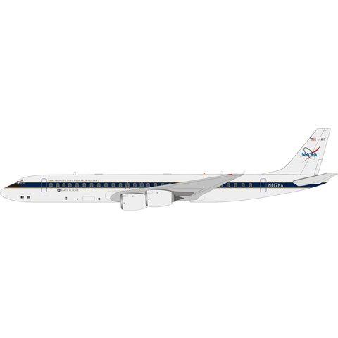 DC8-72 NASA N817NA 1:200 With Stand
