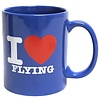 Mug I Love Flying Blue