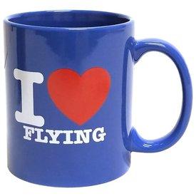 Mug I Love Flying Blue