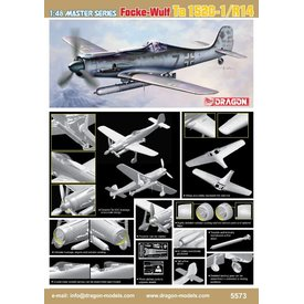 Dragon TA152C1/R14 TORPEDO 1:48 SCALE KIT