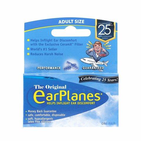 Earplanes Ear Plugs 1 Pair Blue