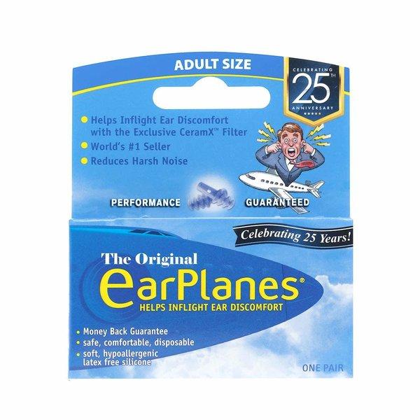 Austin House Earplanes Ear Plugs 1 Pair Blue