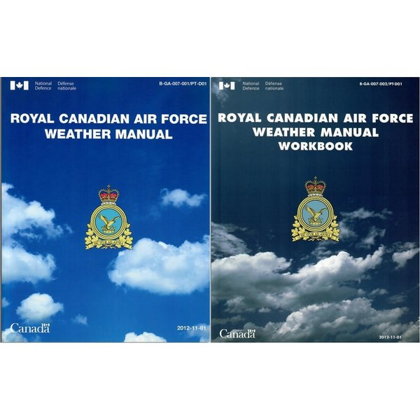 Transport Canada Royal Canadian Air Force RCAF Weather Manual Combo