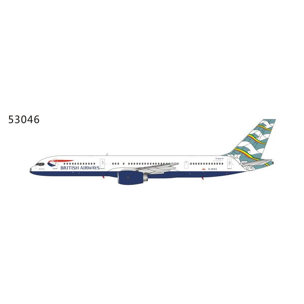 NG Models B757-200 British Airways Blue Poole G-BIKA 1:400