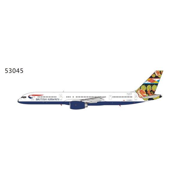NG Models B757-200 British Airways Grand Union G-BMRJ 1:400