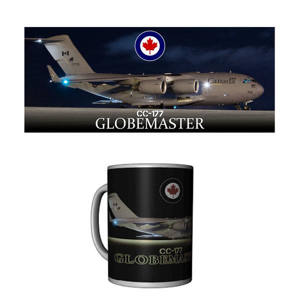 Labusch Skywear Mug CC177 Globemaster Ceramic