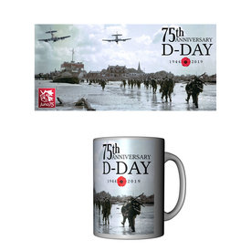 Labusch Skywear Mug D-Day 75th Anniversary Ceramic