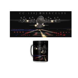 Labusch Skywear Mug C-130J Hercules Ceramic