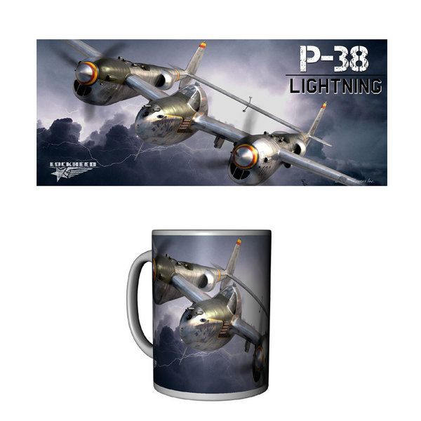 Labusch Skywear MUG P38 LIGHTNING