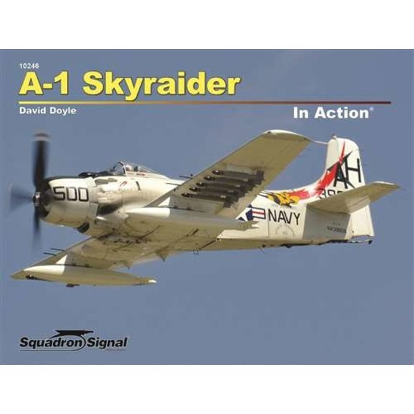 Squadron A1 Skyraider: In Action #246 Softcover