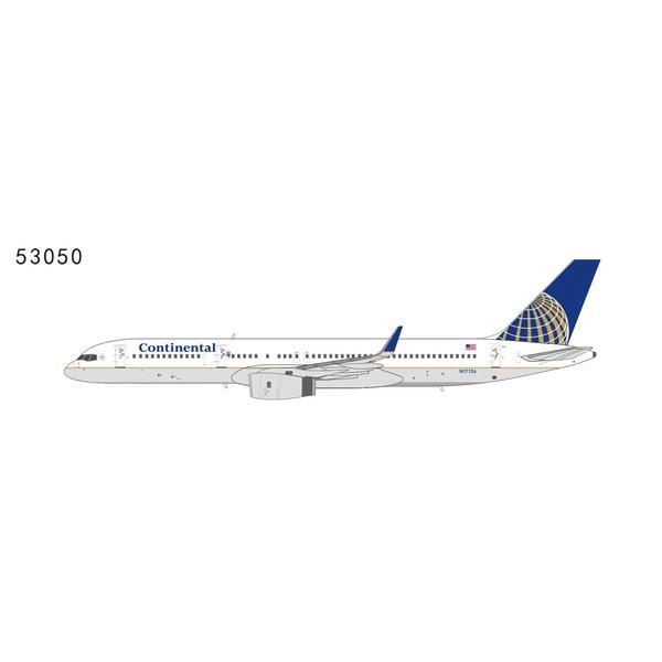NG Models B757-200W Continental Airlines final N17126 1:400
