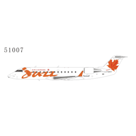 NG Models CRJ100 Air Canada Jazz old livery red maple leaf C-FWRT 1:200