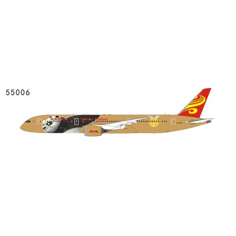 B787-9 Hainan Kung Fu Panda #4 Gold B-1343 1:400