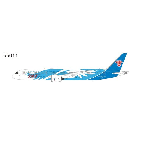 B787-9 Dreamliner China Southern 787th 787 Wings Livery B-1168 1:400