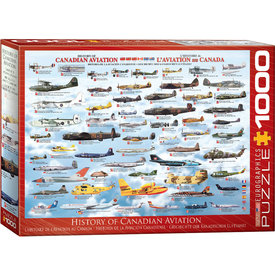 History of Canadian Aviation 1000 Piece Puzzle