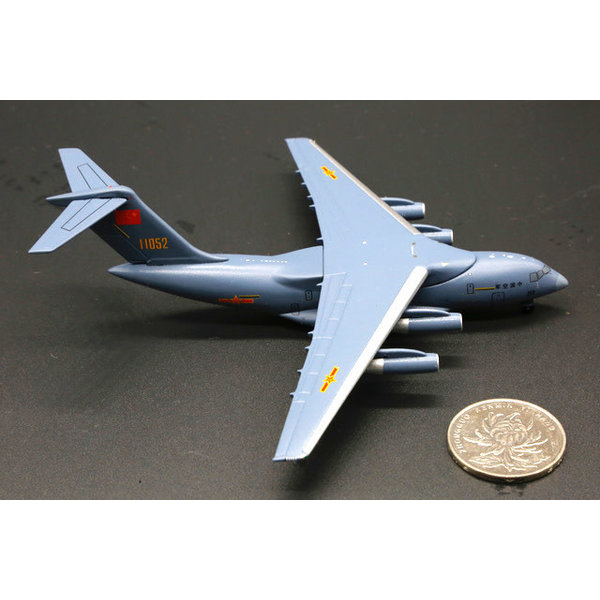 NG Models Y20 PLAAF Chinese Air Force 11052 Grey 1:400