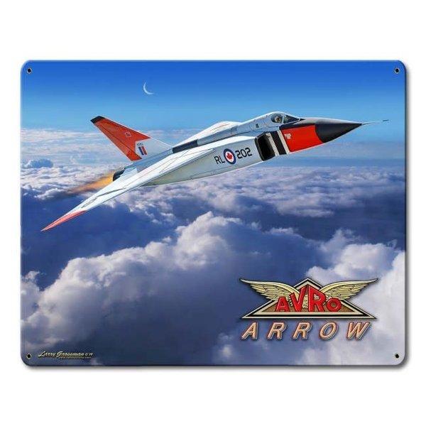 Avro Arrow Metal Sign