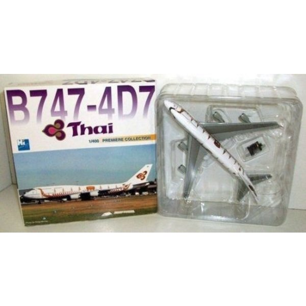 Dragon B747-4D7 Thai 'Dragonboat' 1:400 *O/P*